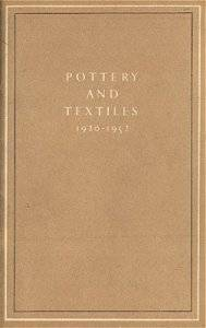 1952 Pottery and Textiles exhibition booklet